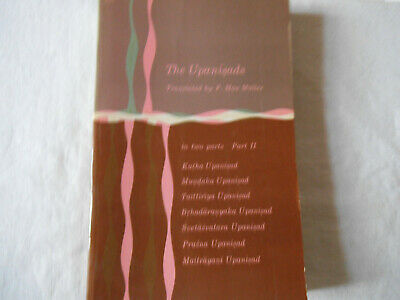 F. Max Müller: The Upanisads. Part II