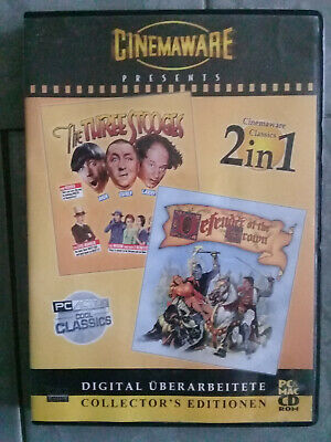 Cinemaware presents-The Three Stooges/Defender of the Crown-2 in 1