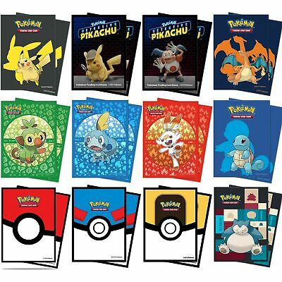 ULTRA PRO POKEMON CARD SLEEVES HOLDS 65 CARDS STANDARD CARD SLEEVES