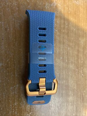 FitBit Ionic Original BAND ONLY Small BlueGrey And Orange