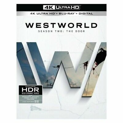 Westworld Season 2 4k Ultra HD and Blu Ray Set West World S Two The Door