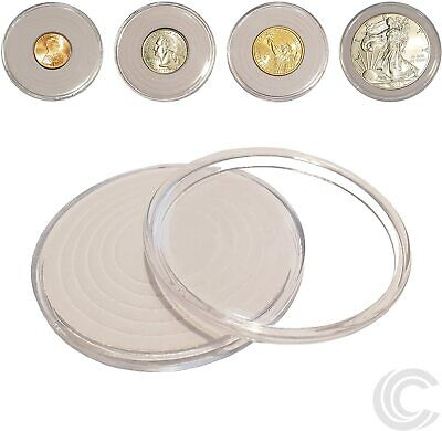 40 x Coin Holder Capsules for All US Coins 46mm Diameter SHIPS FREE USA