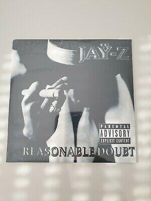 Jay-z - Reasonable Doubt LP ( white vinyl ) neuf scellé