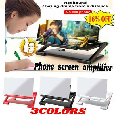3D Mobile Phone Screen Magnifier HD Video Amplifier Smartphone Stand Fast
