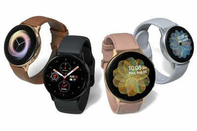 Samsung Galaxy Watch Active 2 SM-R835 40mm 44mm Steel Case with Black Gold A