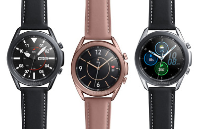Samsung Galaxy Watch3 SM-R845 SM-R855 45mm 41mm  Stainless Leather  910
