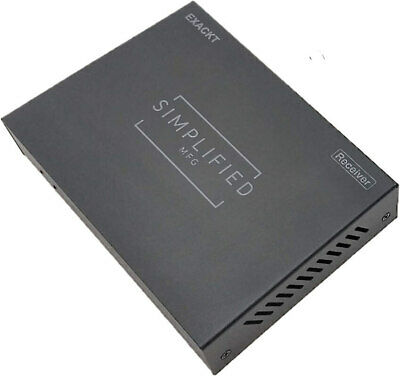 Simplified MFG EXACDEC Extra Decoder for EXACKT HDMI Over AC Powerline Kit