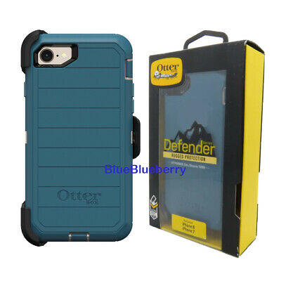 Otterbox Defender Case w Holster for iPhone 8 iPhone 7 iPhone SE 2nd Gen Blue