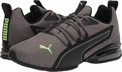 Mens Shoes PUMA AXELION NXT Athletic Running Sneakers 19565602 CASTLEROCK GREEN