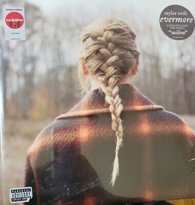 Taylor Swift Evermore Vinyl -Target Exclusive Red Color
