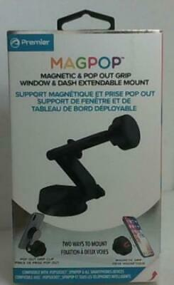 Premier Magpop PMPWD Magnetic - Pop Out Grip Window - Dash Phone Mount