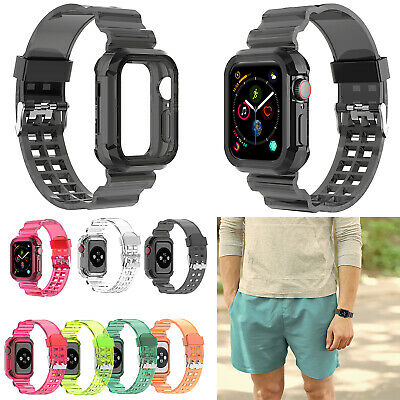 Transparent Watch Band Wrist Strap for NEW Watch 6543 38mm40mm42mm44mm