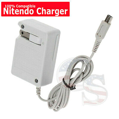 New AC Adapter Home Wall Charger Cable for Nintendo DSi 2DS 3DS DSi XL System