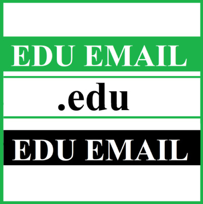 EDU Email Student US School Educational Many BENEFITS CHEAP Fast Delivery