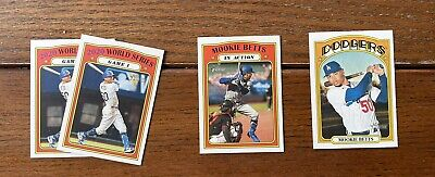 Mookie Betts 2021 Topps Heritage Lot Of 4 Cards-
