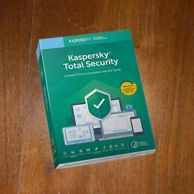 KASPERSKY TOTAL SECURITY  1 Device 12 Month 2021 NEWES-