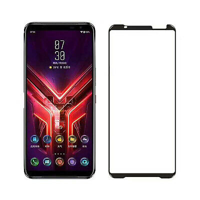 HD Tempered Glass Film Screen Protector Full Cover Case for ASUS ROG Phone 3