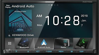 Kenwood - 7 - Android AutoApple® CarPlay- Built-in Bluetooth - In-Dash Di-