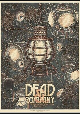 Dead - And Company Poster 91521 Noblesville IN Weir Mayer 2021 Indiana