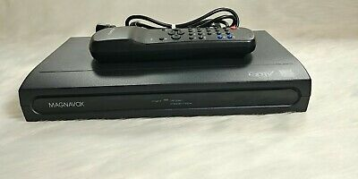 Magnavox DTV Digital To Analog Converter Box with Remote TB100MW9
