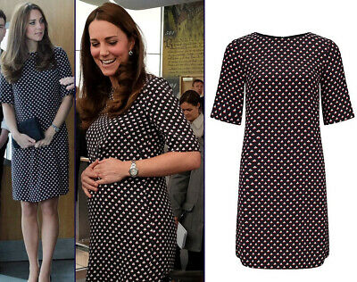 SOMERSET Kate Middleton Alice Temperley Womens 10 Boat Dress Sold out 350
