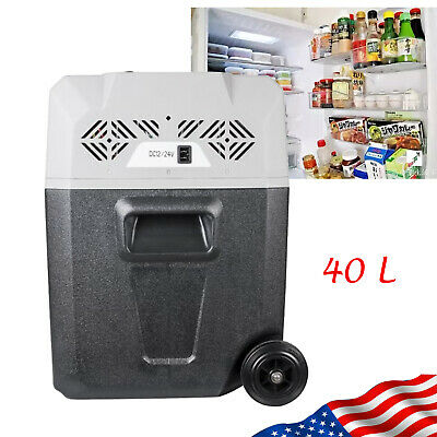 40L Home Mini Refrigerator Cooler Frozen for Travel Camping Fishing APP Control