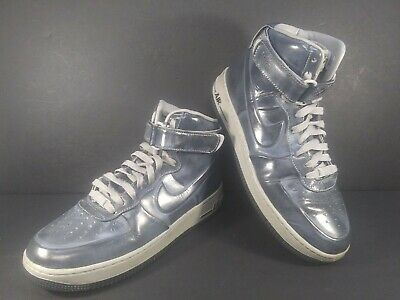 Nike Air Force 1 High Supreme Mens Size 8-5 Shoes Gray  Silver 469775-001