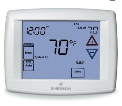 White-Rodgers Emerson Programmable 7-Day Touchscreen Thermostat 1F95-1277