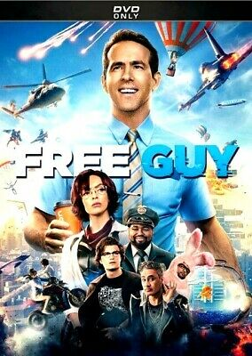 Free Guy DVD 2021 NEW FREE SHIPPING
