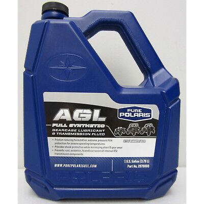 Polaris AGL Plus Synthetic Gearcase Oil Lube LubricantTransmission Fluid Gallon