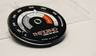Inferno Stove Top Thermometer 3-30 Stylish new design
