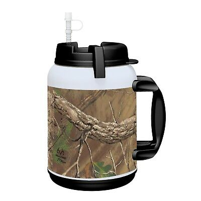 1-64 oz REALTREE Insulated Mug  Whirley Drink Works FREE SHIPPING