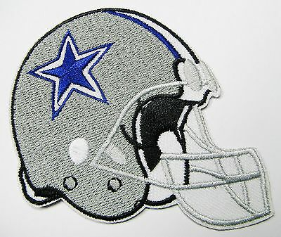 LOT OF 1 NFL DALLAS COWBOYS HELMET EMBROIDERED PATCH IRON-ON ITEM  05