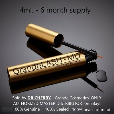 GrandeLASH-MD EXCLUSIVE 4ml  6 MOS SUPPLY- AUTHORIZED MASTER DEALER Grande lash