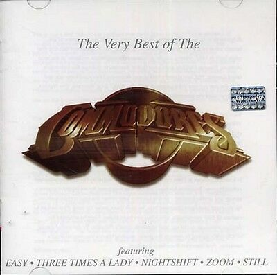 The Very Best OF The Commodores - The Commodores CD Sealed  New