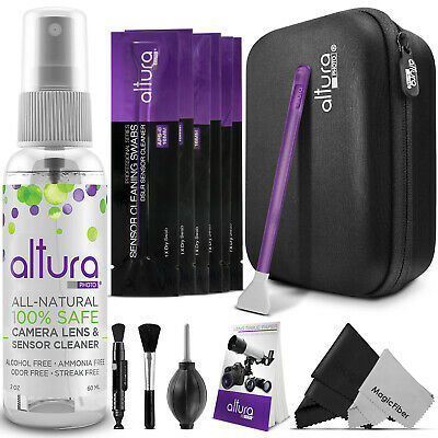 Altura Photo® Camera - Lens Cleaning Kit for DSLR Lenses APS-C Sensors and LCD