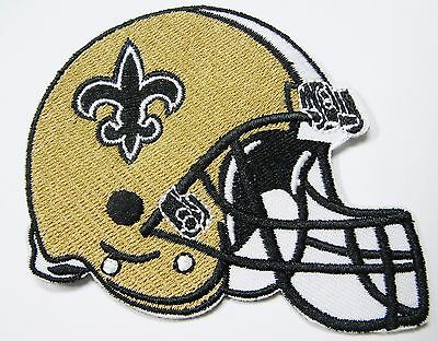 LOT OF 1 NFL NEW ORLEANS SAINTS EMBROIDERED HELMET PATCH ITEM  24