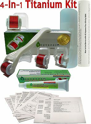 NEW Youyaner 4 in 1 Microneedle Derma Roller Kit - Numb Cream - How-to Guide