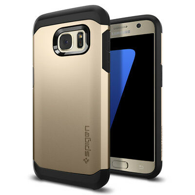 Spigen® Tough Armor Shockproof TPU Case Protective Cover For Samsung Galaxy S7