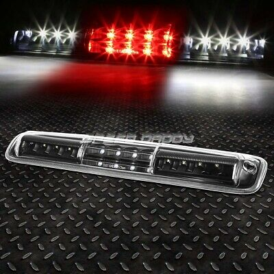 FOR 99-07 SILVERADOSIERRA LED THIRD 3RD TAIL BRAKE LIGHT WCARGO LAMP BLACK