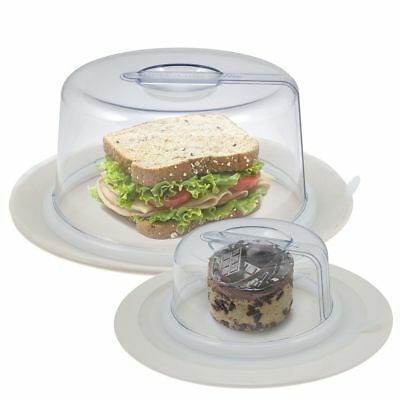 2 PlateTopper Mini - Tall Universal Leftover Lid Microwave Cover Airtight