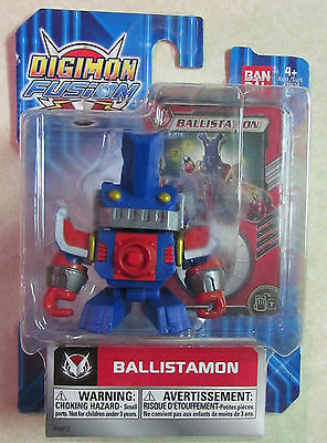 Digimon - Fusion 2 Action Figure - BALLISTAMON - New in Package - Ban Dai