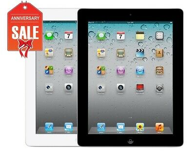 Apple iPad 2 WiFi Tablet   Black or White   16GB 32GB or 64GB   GREAT CONDITION