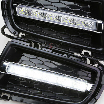 2x LED DRL Daytime Running Driving Fog LightLamp-Switch for 06-08 Mazda 6 Sedan