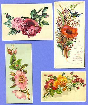 Vintage Victorian Trade Card Lot of (4)