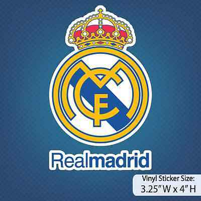 Real Madrid C-F-  Real Madrid  Soccer  Madrid  Decal  Sticker