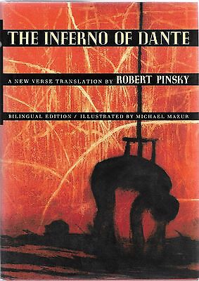 The Inferno of Dante by Pinsky FIRST EDITION 1ST PRINTING Hardcover illustrated