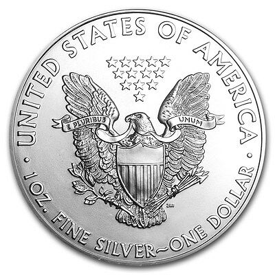 Silver American Eagle 1 oz- Coin - -999 fine silver American Eagles 1oz