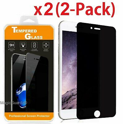 Privacy Anti-Spy Tempered Glass Screen Protector Shield for 5-5 iPhone 7 Plus