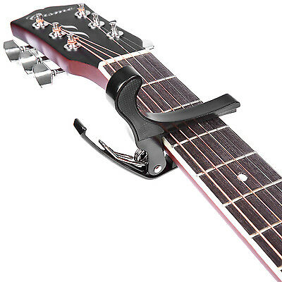 Neewer Quick Change Black Guitar Capo for Acoustic - Electric Guitar